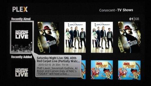 Plex Roku TV Home