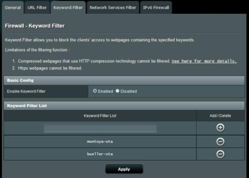 Disable Fire TV Software Updates with Keyword Filter