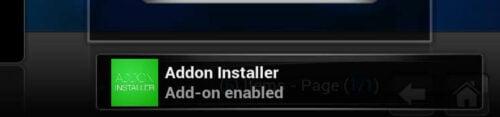 Kodi Addon Installer Installed