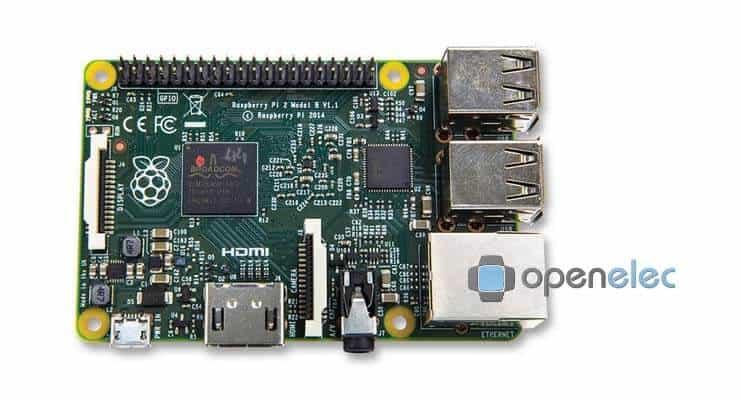 Raspberry Pi 2 Openelec Ft - Smarthomebeginner