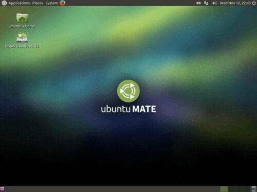 Raspberry Pi Running Ubuntu Mate