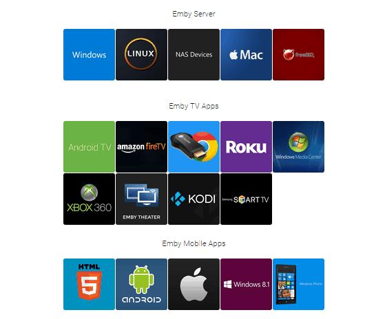 Emby: a media server alternative to Plex and Kodi