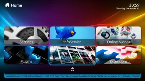 MediaPortal is one of the most customizables Windows Media Center alternatives