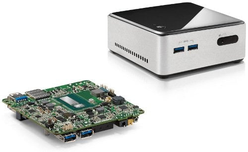 Intel NUC and motherboard