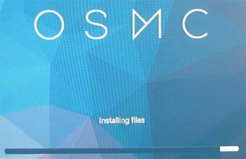 Install OSMC on Raspberry Pi