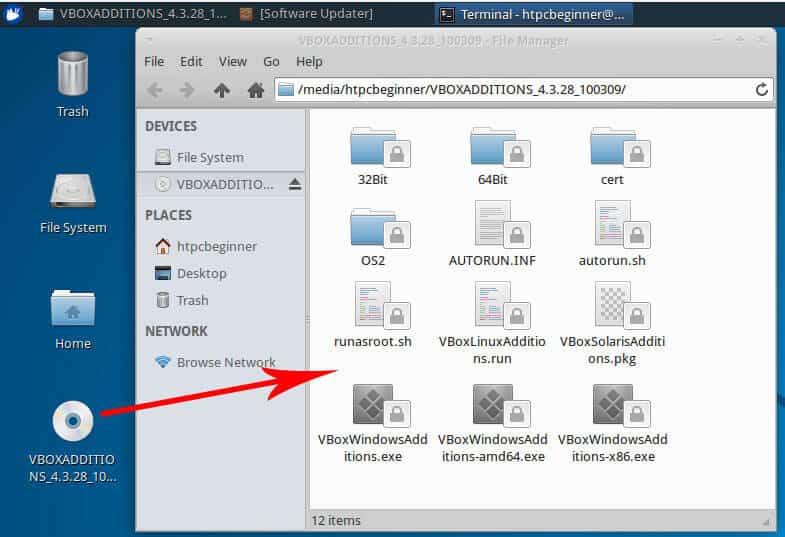 Install VirtualBox Guest Additions on Ubuntu and Debian