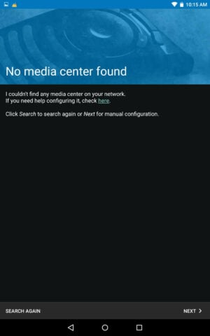 Install Kore No Media Center