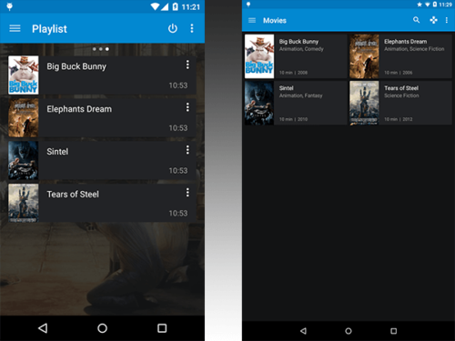 Kore Android remote