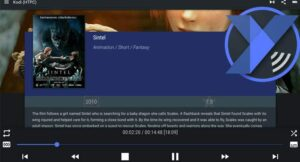 Yatse: an android remote control app for Kodi