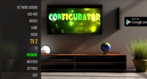 Install Kodi Configurator Android