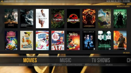 Kodi and Plex - Plex Movies