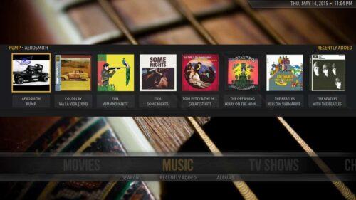 Plex Kodi Music
