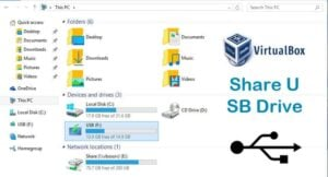 VirtualBox Share USB Drive