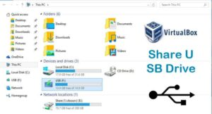 VirtualBox Share USB Drive