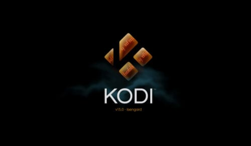 Kodi beginners guide Start Up Screen