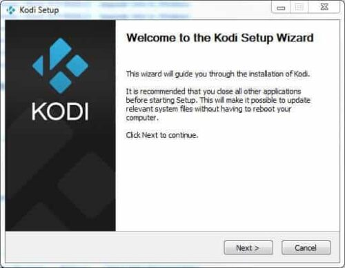 Kodi beginners guide Install Wizard