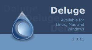 Deluge Torrent 1.3.11