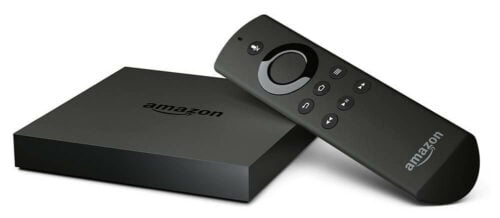 Amazon Fire TV 4k with remote