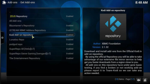 Best Kodi repository list