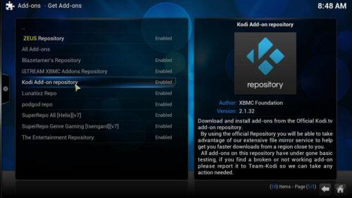 Best Kodi repository list