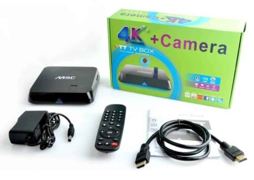 M8C Android box contents