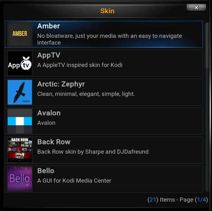 Black Glass Nova Change Skin