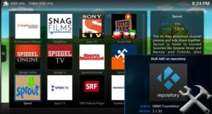 Official Kodi Repository featured