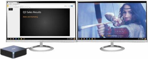 ChromeBox HTPC dual screen