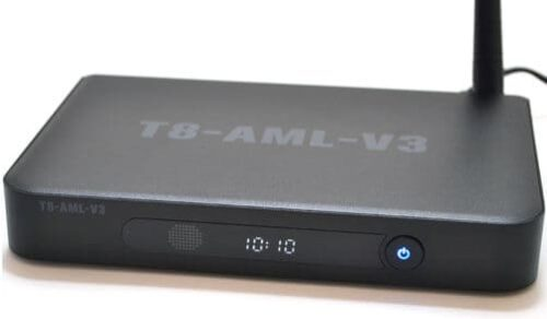 Android 4k box front view