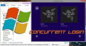 How to Enable concurrent Windows login for the Remote Desktop?