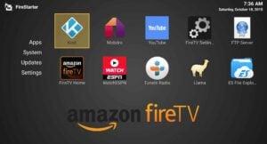 Install FireStarter on Amazon Fire TV