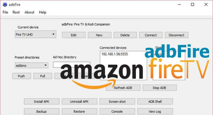 adbFire App for Amazon Fire TV