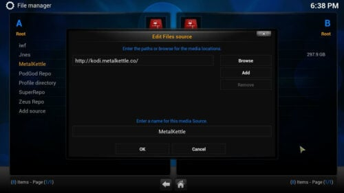 Install Kodi Movie Hut source