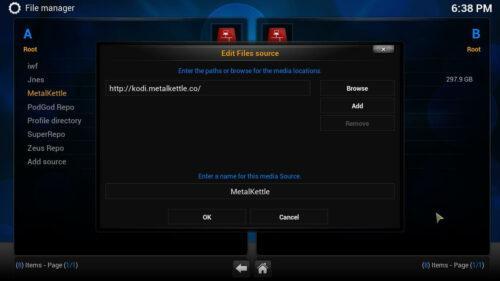 Install Kodi Movie Hut source