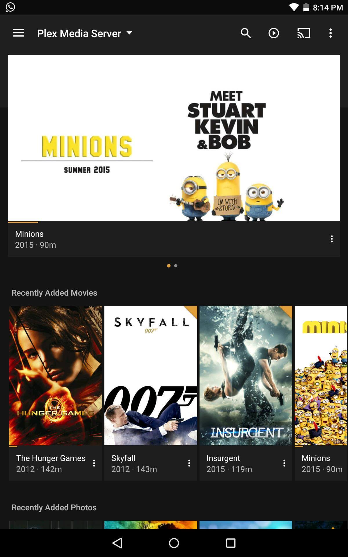 Guide: How to install Plex Android client app