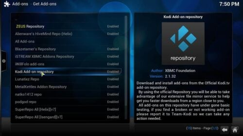 Kodi ROM Collection Browser addon repository