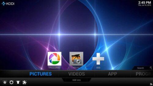 Tayun TV Box Kodi OS