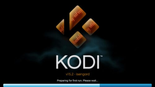Kodi First Run on Fire TV and Stick
