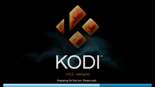 Kodi First Run on Fire TV and Stick