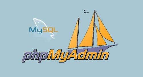 phpMyAdmin 4.6.3