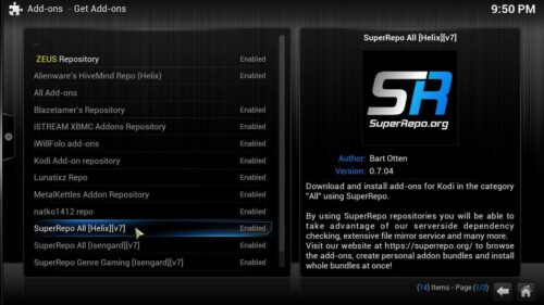 Install Kodi KissCartoon repository