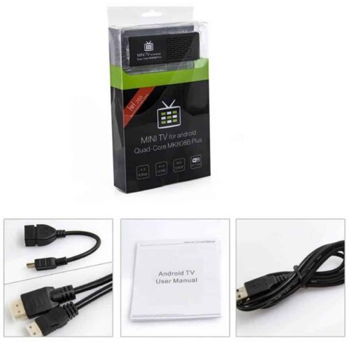 Android TV Stick MK808B Plus contents