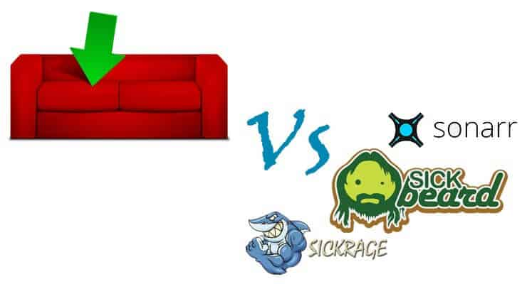 CouchPotato vs SickBeard, SickRage, or NzbDrone
