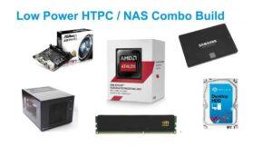 Energy efficient budget HTPC-NAS combo build 2016