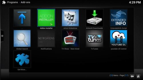 Install Kodi Movies HD fusion installer