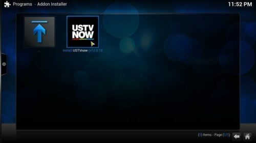 USTVNow Kodi Plugin install
