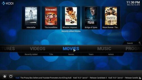Install Emby Kodi Addon movies