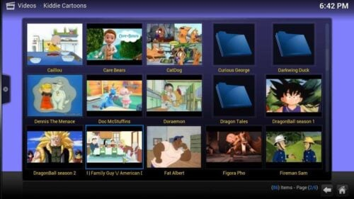 Install Kodi Kiddie Cartoons