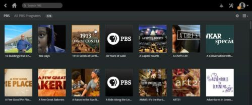 Install Plex PBS Channel content