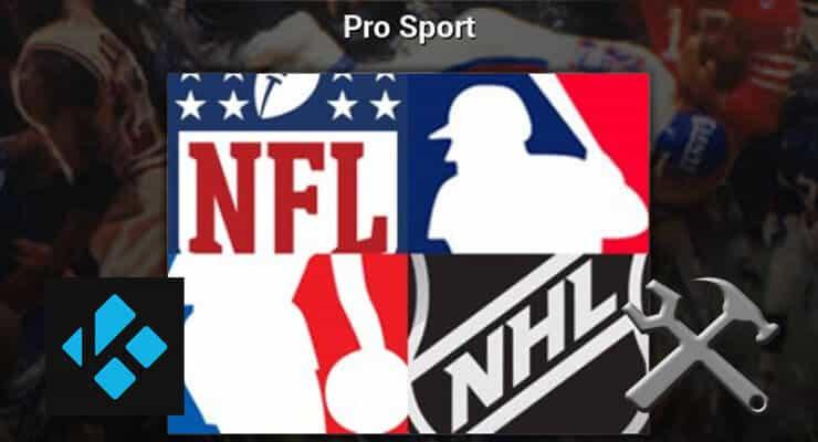 Kodi Pro Sport addon featured